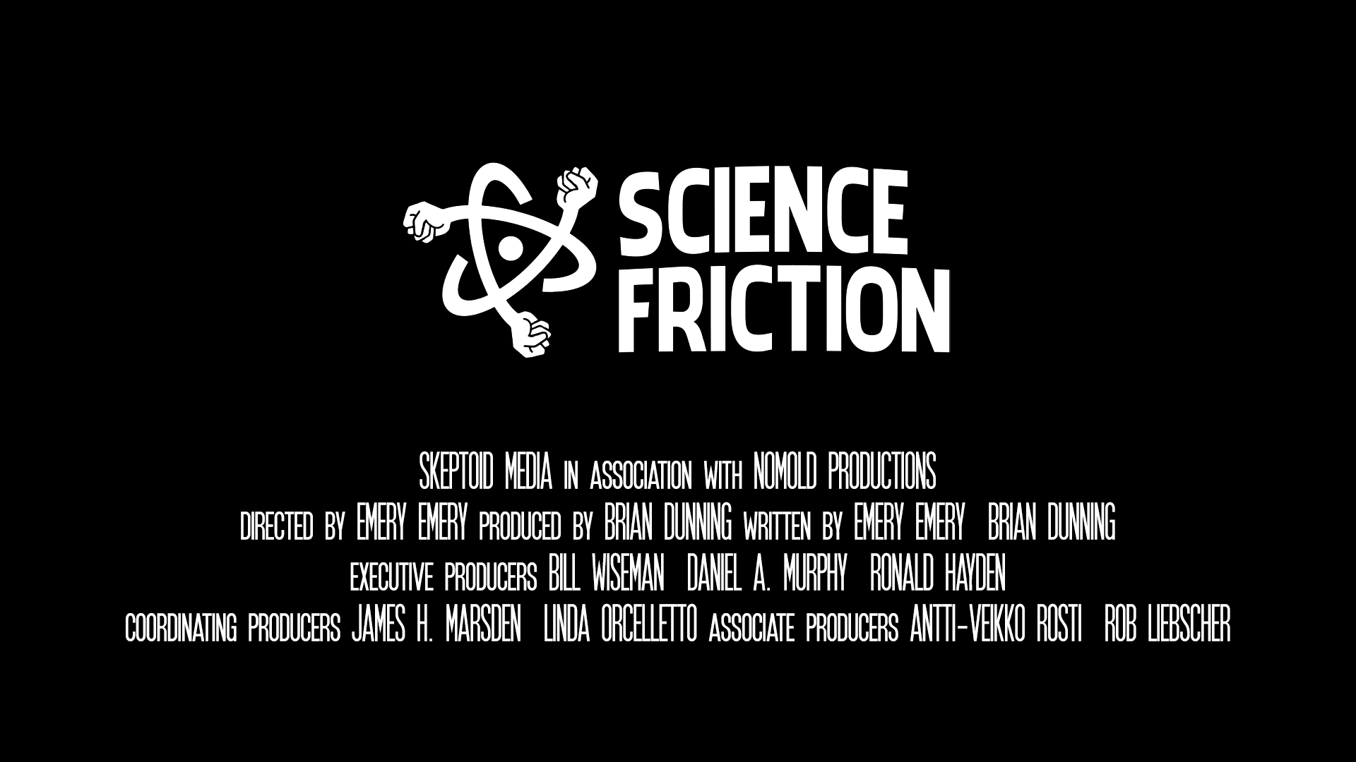 Science Friction screening and discussion